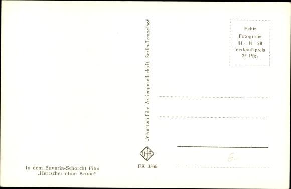 Ak Schauspieler O.W. Fischer, Portrait 1