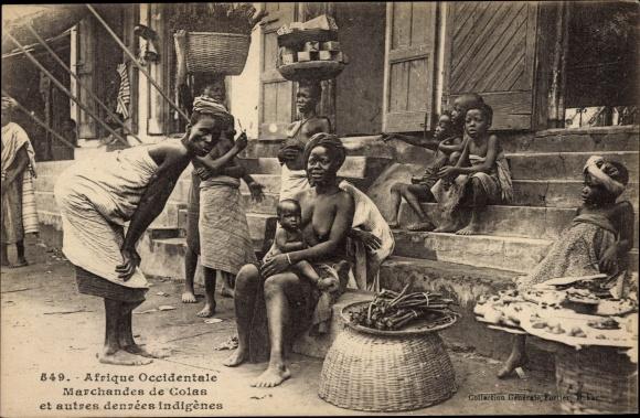 Ak Dakar Senegal, Marchandes de Colas 0