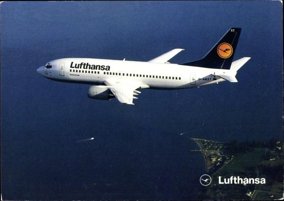 Ak Lufthansa Boeing 737 300, D ABXT, Passagierflugzeug 0