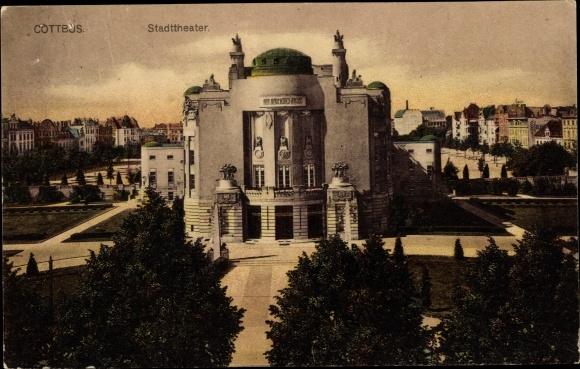 Ak Cottbus Brandenburg, Stadttheater 0