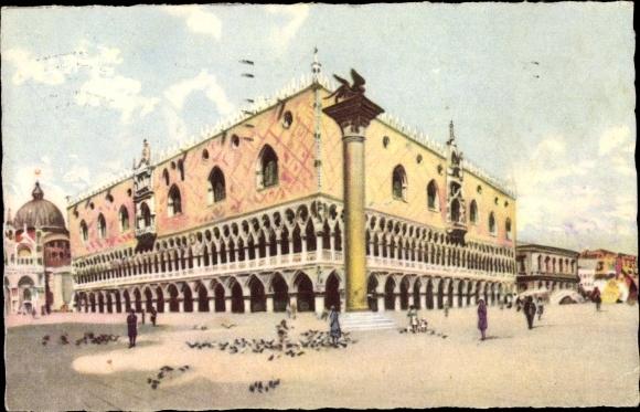 Ak Venezia Venedig Veneto, Palazzo Ducale, Dogenpalast 0