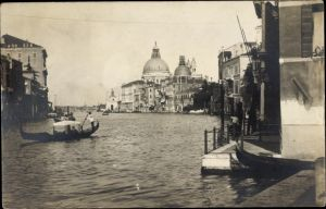 Foto Ak Venezia Venedig Veneto, Canal Grande, Santa Maria della Salute