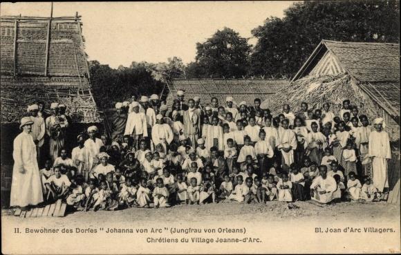Ak Bewohner des Dorfes Johanna von Arc 0