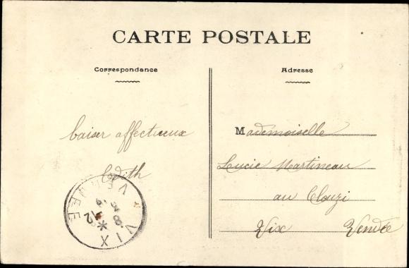 Ak Französisch Kongo, Missions des Pères du St. Esprit, Le marché de la Station de Kialou 1