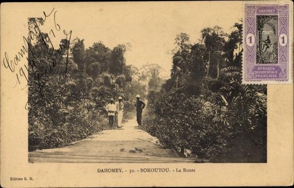 Ak Bokoutou Dahomey Benin, La Route 0