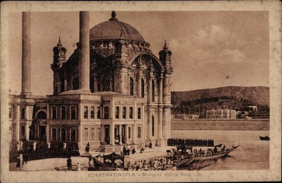 Ak Konstantinopel Istanbul Türkei, Mosquée d'Orta Keuy 0