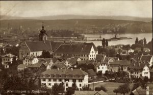 Ak Kreuzlingen Kt. Thurgau Schweiz, Ortsansicht