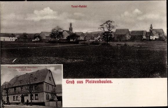 Ak Pleizenhausen Rheinland Pfalz, Gastwirtschaft und Handlung von Adam Göhl