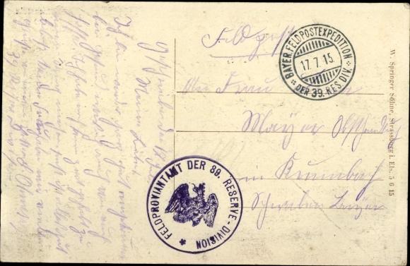 Ak Senones Lothringen Vosges, Vue générale, Donon, Mousseym Katzenstein 1