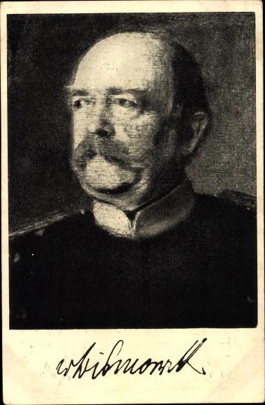 Künstler Ak Otto von Bismarck, Herzog zu Lauenburg, Bundeskanzler