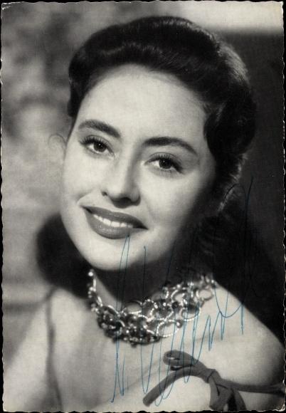 Ak Schauspielerin Caterina Valente, Portrait 0