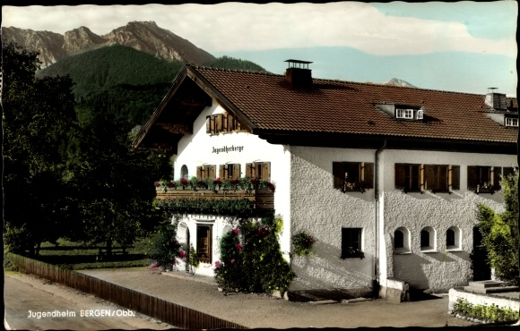 Ak Bergen im Chiemgau, Jugendheim Bergen 0