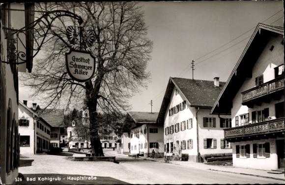 Ak Bad Kohlgrub in Oberbayern, Hauptstraße 0