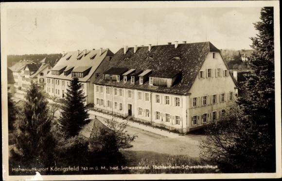 Ak Königsfeld im Schwarzwald, Töchterheim, Schwesternhaus 0