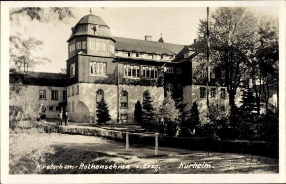 Ak Kretscham Rotensehma Sehmatal Erzgebirge, Kurheim 0