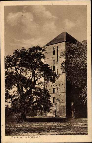 Ak Wittstock Dosse in der Ostprignitz, Amtsturm