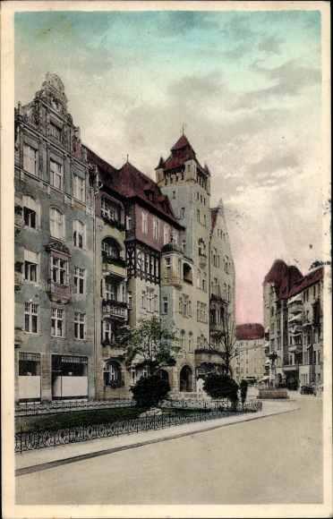 Ak Berlin Schöneberg, Haberlandstraße im Bayerischen Viertel 0