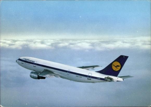 Ak Airbus A 300, Lufthansa, Passagierflugzeug