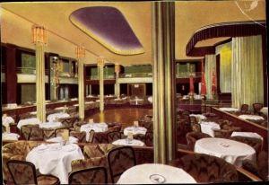 Ak Leipzig in Sachsen, Kasino Café, Dittrichring 19