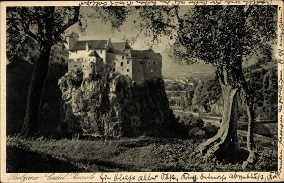 Ak Bozen Bolzano Südtirol, Castel Roncolo