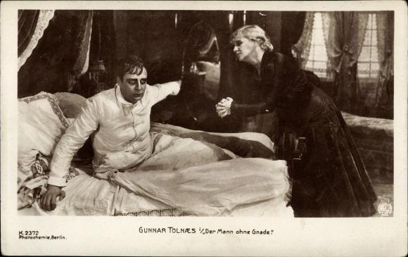 Ak Schauspieler Gunnar Tolnaes, Filmszene Der Mann ohne Gnade