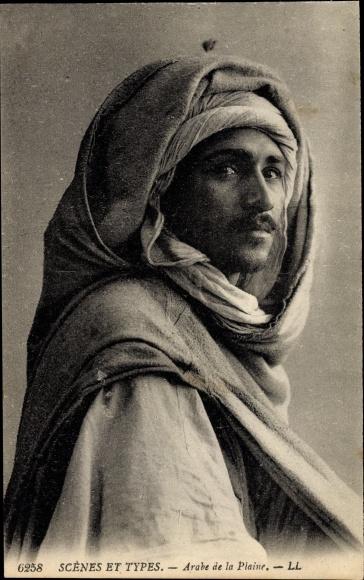 Ak Maghreb, Scènes et Types, Arabe de la Plaine