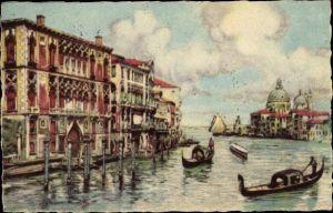 Künstler Ak Venezia Venedig Veneto, Canal Grande, Palazzo Pranchetti