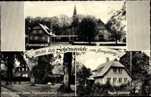 Ak Schönwalde am Bungsberg in Ostholstein, Jugendherberge, ehemaliges Organistenhaus