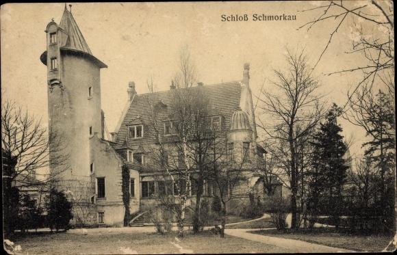 Ak Schmorkau Neukirch Sachsen, Schloss Schmorkau