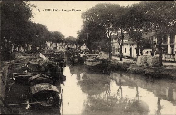 Ak Cholon Saigon Cochinchine Vietnam, Arroyo Chinois