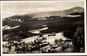 Ak Malá Úpa Kleinaupa Reg. Königgrätz, Riesengebirge, Schneekoppe, Brückenberg