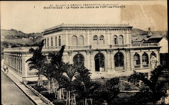 Ak Fort de France Martinique, Le Palais de Justice