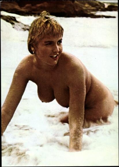 blondienen nackt am strand