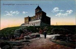 Ak Szklarska Poręba Schreiberhau Schlesien, Schneegrubenbaude, Schronisko nad Śnieżnymi Kotłami
