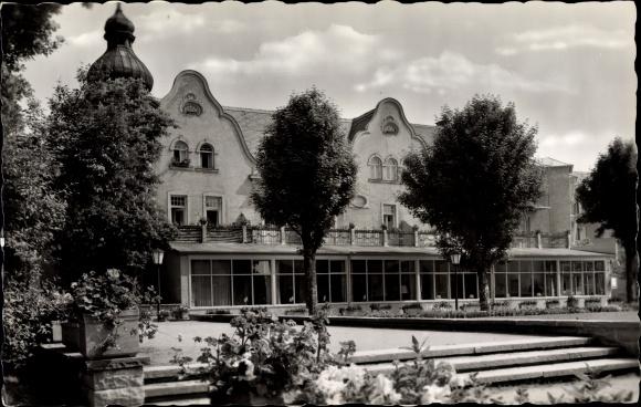 Ak Bad Wörishofen im Unterallgäu, Café Matzberger 0