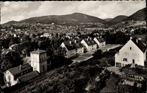 Ak Neustadt an der Weinstrasse in Rheinland Pfalz, Ortsansicht 0