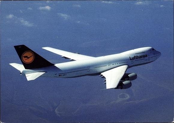 Ak Boeing 747-200, Lufthansa, Passagierflugzeug