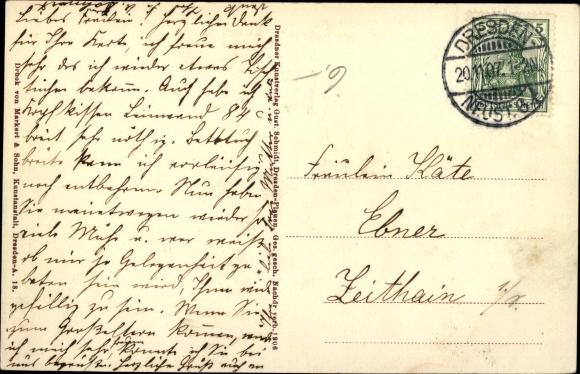 Ak König Friedrich August III. von Sachsen, Kronprinz Georg, Christian, Ernst, Alix, Margarethe 1