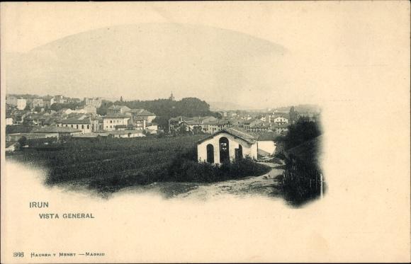 Ak Irún Irun Baskenland Spanien, Vista general