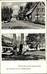 Ak Bremervörde in Niedersachsen, Am Mahlersberg, Landratsamt