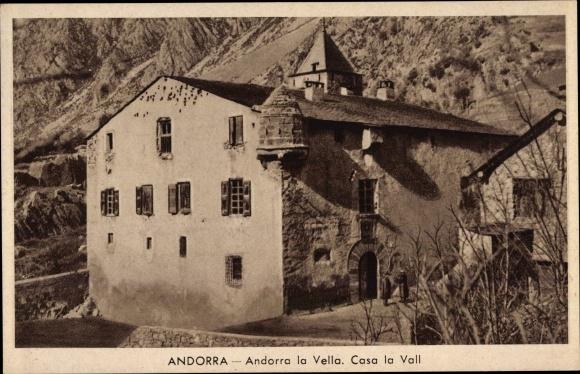 Ak Andorra la Vella Andorra, Casa la Vall