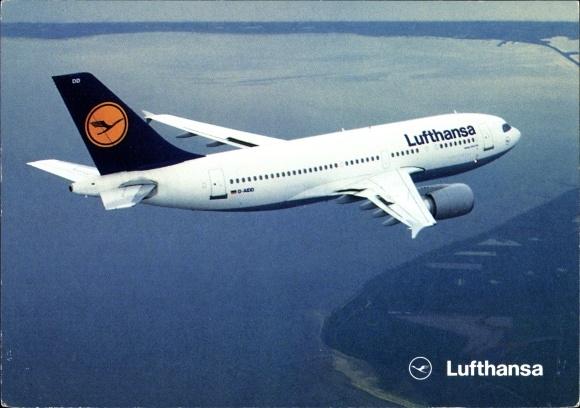 Ak Airbus A 310-300, Lufthansa, Passagierflugzeug