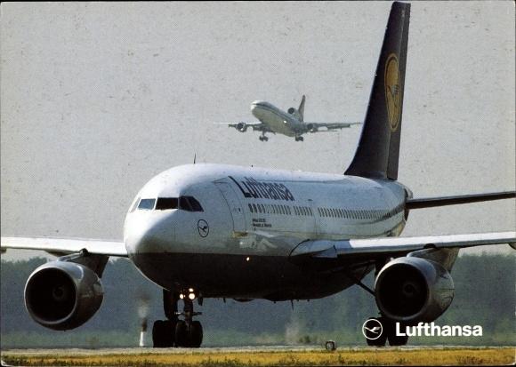 Ak Airbus A 310-200, Lufthansa, Passagierflugzeug