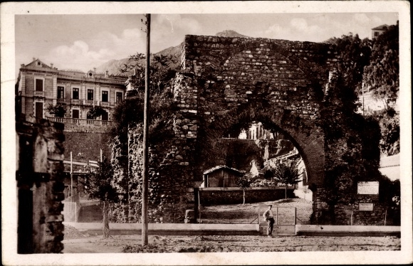 Ak Bougie Bejaia Algerien, La Porte Sarrazine, Bab El Behar