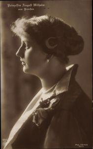 Ak Alexandra Viktoria von Schleswig Holstein Sonderburg Glücksburg, NPG 5523