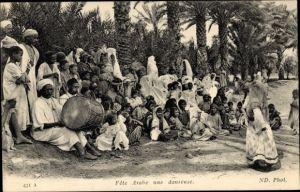 Ak Maghreb, Fete arabe, Une danseuse