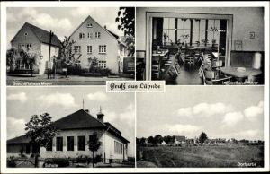 Ak Lühnde Algermissen Niedersachsen, Geschäftshaus Meyer, Gasthaus Meyer, Schule