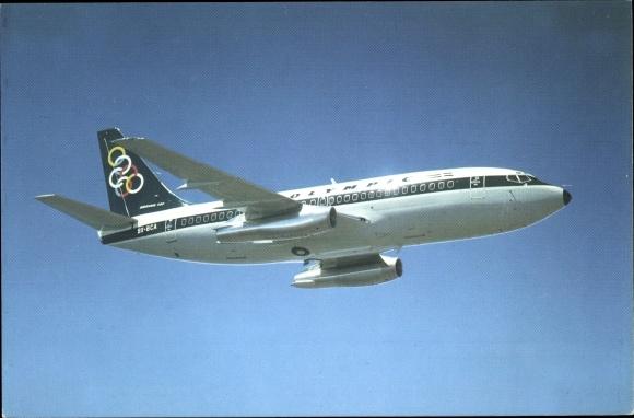 Ak Olympic Airways, Boeing 737 200, SX BCA, Passagierflugzeug