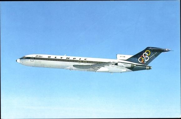 Ak Olympic Airways, Boeing 727 200, SX CBB, Passagierflugzeug