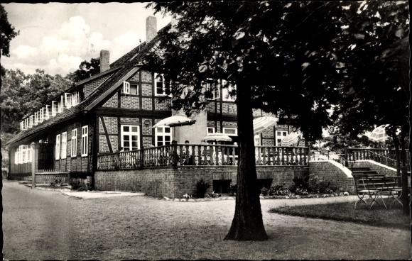 Ak Müden Örtze Faßberg Lüneburger Heide, Gast und Pensionshaus zum Bauernwald